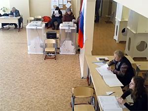 Секс на избирательном участке раздолье