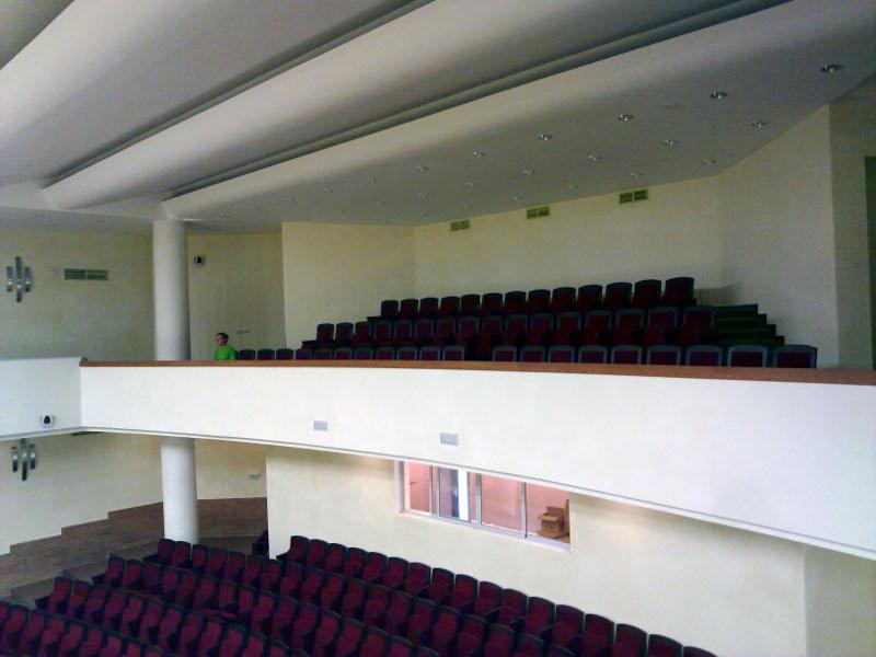 Балкон концертного зала.