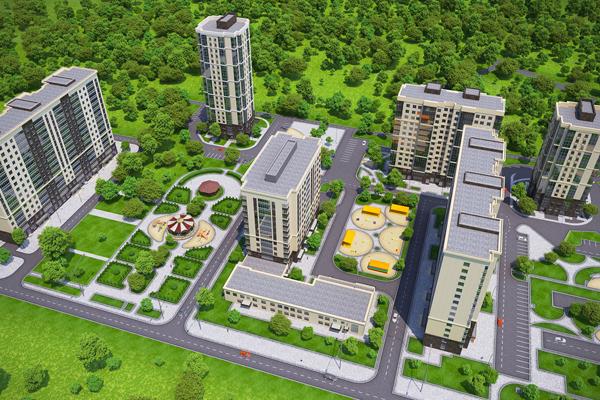 Представлен проект ЖК «Зеленоград Сити»