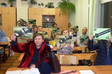 Родители зеленоградских школьников присоединились кобщероссийской кампании «Пристегнись, РФ !»